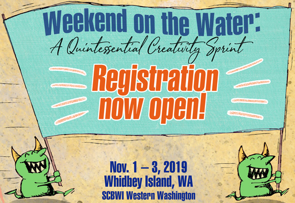 Hey! Registration is now open for the 2019 Weekend on the Water Retreat, a Quintessential Creativity Sprint, to be held Nov. 1 - 3, 2019. Spaces are unusually limited, so click through and sign up now!