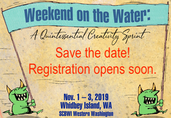 Save the date now for the 2019 Weekend on the Water Creativity Sprint Retreat Nov. 1 - 3, 2019. Look for details soon; registration will begin this summer.